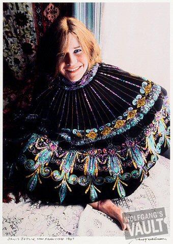 Janis JoplinFine Art Print