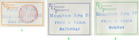 Mountain Aire Music Festival Backstage Pass