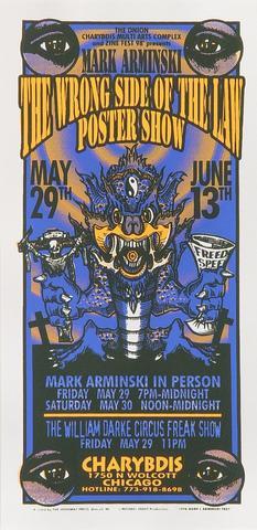 Mark Arminski Handbill