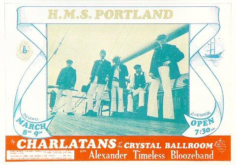 The Charlatans Handbill