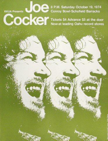 Joe Cocker Poster