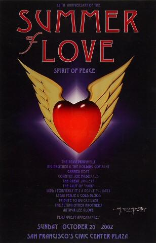 35 th Anniversary of the Summer of Love Poster