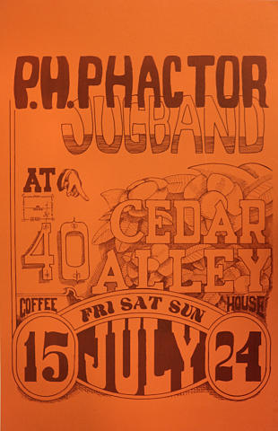 PH Phactor Jug BandPoster