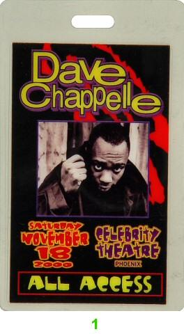 Dave ChappelleLaminate