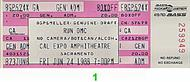 Run-D.M.C. 1980s Ticket