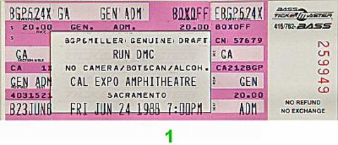 Run-D.M.C. Vintage Ticket