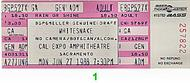Whitesnake 1980s Ticket