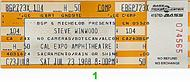 Steve Winwood 1980s Ticket