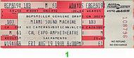 Gloria Estefan &amp; Miami Sound Machine1980s Ticket