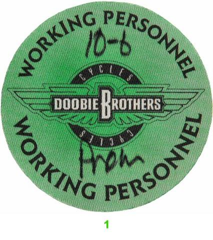 The Doobie Brothers Backstage Pass