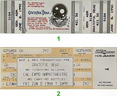 Grateful DeadVintage Ticket