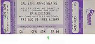 Spin Doctors 1990s Ticket