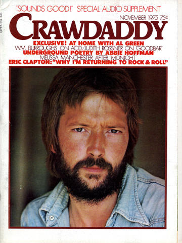 Crawdaddy November 1975 Magazine