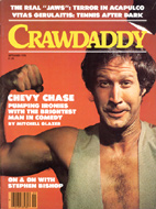 Chevy Chase Crawdaddy Magazine