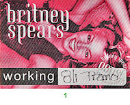 Britney Spears Backstage Pass