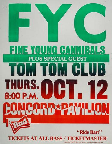 Fine Young Cannibals Poster