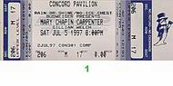 Mary Chapin Carpenter 1990s Ticket