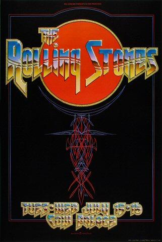 The Rolling Stones Poster from Jul 15, 1975
