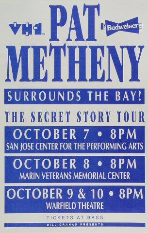 Pat Metheny Poster