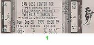 Weird Al Yankovic1990s Ticket
