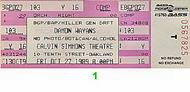 Damon Wayans1980s Ticket