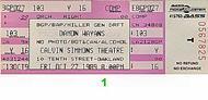 Damon Wayans1980s Ticket
