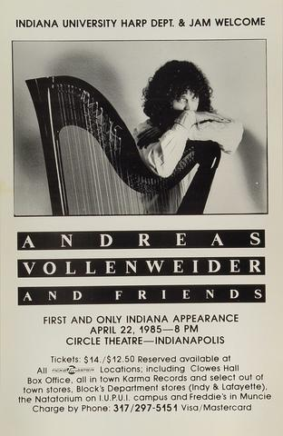Andreas VollenweiderPoster