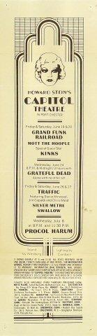 Grand Funk RailroadHandbill