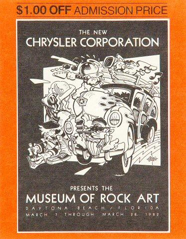 Museum of Rock Art Handbill