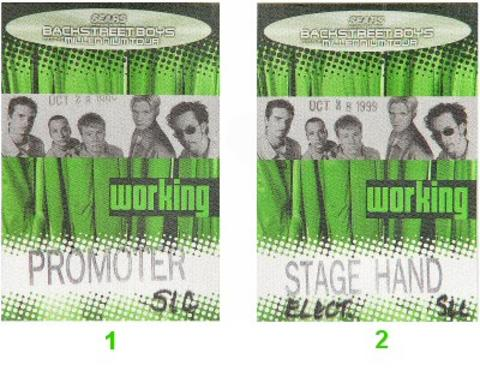Backstreet Boys Backstage Pass