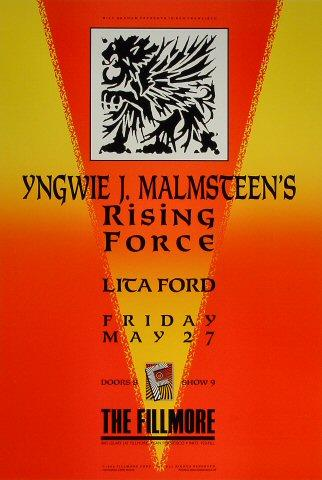 Yngwie J.Malmsteen's Rising Force Poster