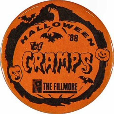 The Cramps Vintage Pin