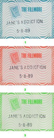 Jane's AddictionBackstage Pass