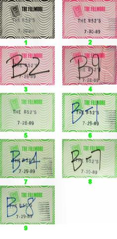 The B-52'sBackstage Pass