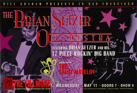 Brian Setzer OrchestraPoster