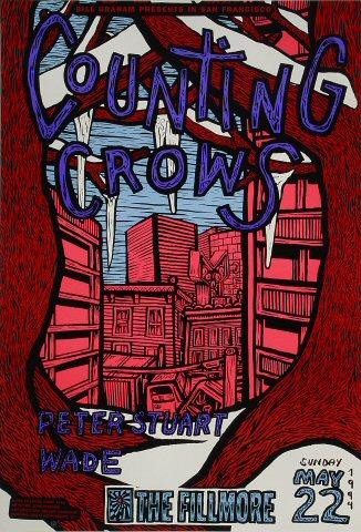 Counting Crows Poster