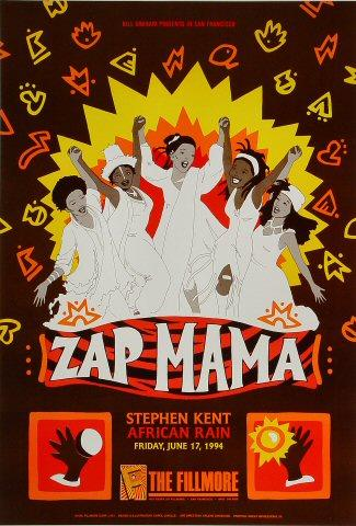 Zap Mama Poster