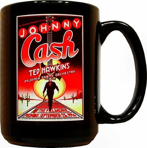 Johnny Cash Retro Mug