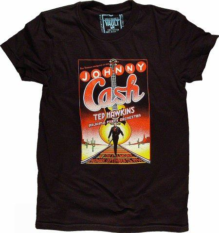 Johnny CashWomen's Retro T-Shirt