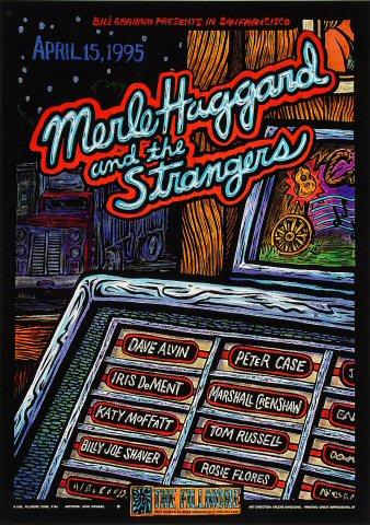 Merle Haggard & The Strangers Poster