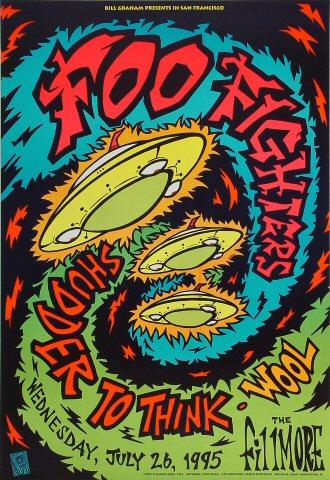 Foo Fighters Poster from Jul 26, 1995