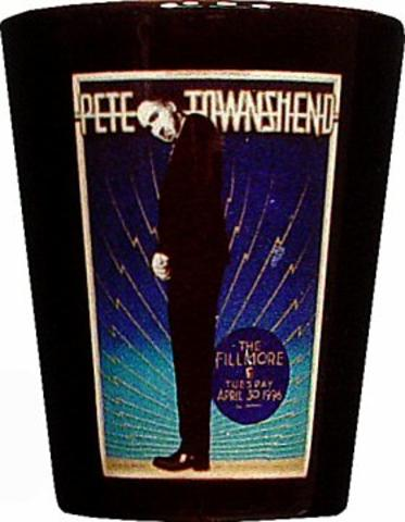 Pete Townshend Retro Shotglass