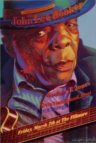 John Lee Hooker Poster