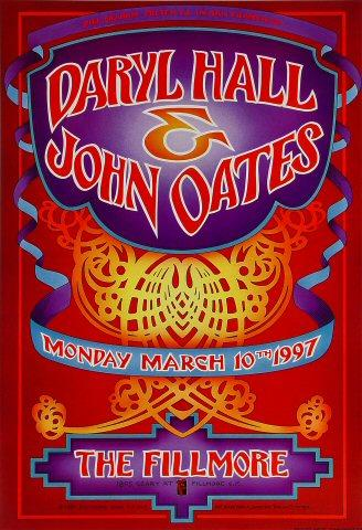 Hall & Oates Poster
