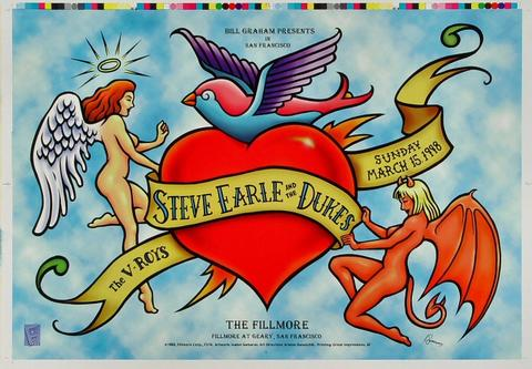 Steve Earle & the Dukes Proof