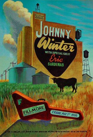 Johnny Winter Poster
