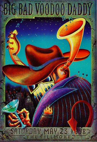Big Bad Voodoo Daddy Poster