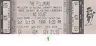 No Doubt1990s Ticket