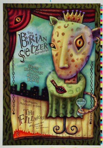 Brian Setzer Orchestra Proof