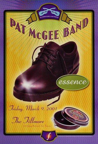 Pat McGee Band Poster